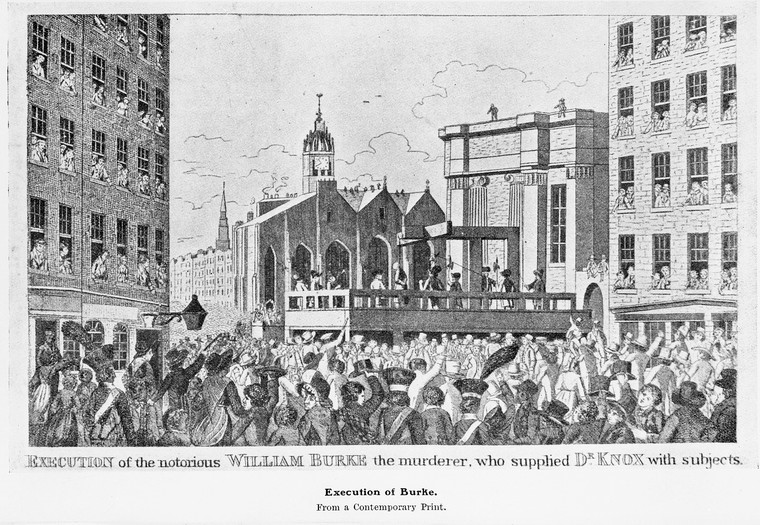 'Execution of the William Burke'. Credit: Wellcome Collection. CC BY.