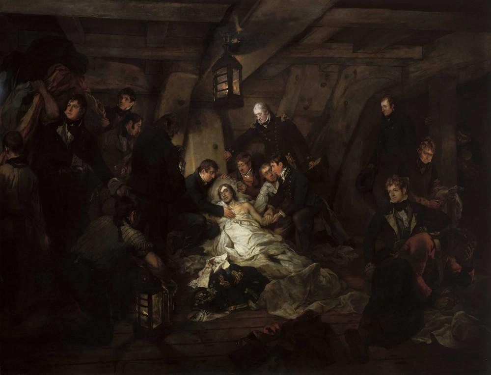 Arthur Devis - Death of Nelson (1807) (Wikimedia Commons)